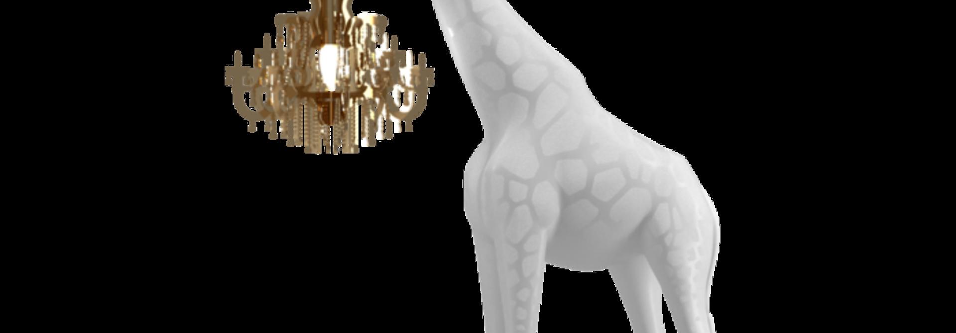 QEEBOO - Giraffe Lamp In Love XS White