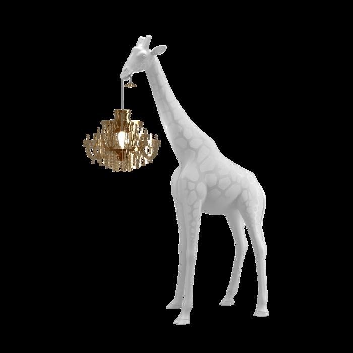 QEEBOO - Giraffe Lamp In Love XS White-1