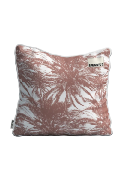 OU EST MARIUS - Canopee Luxe Jacquard Earth Cushion 50x50cm
