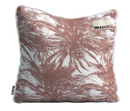 OU EST MARIUS - Canopee Luxe Jacquard Earth Cushion 50x50cm-1
