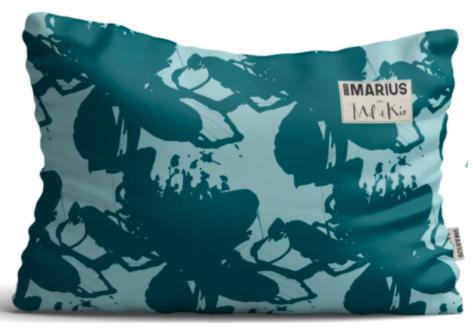 OU EST MARIUS - Les Indolentes cushion 40x60cm-1