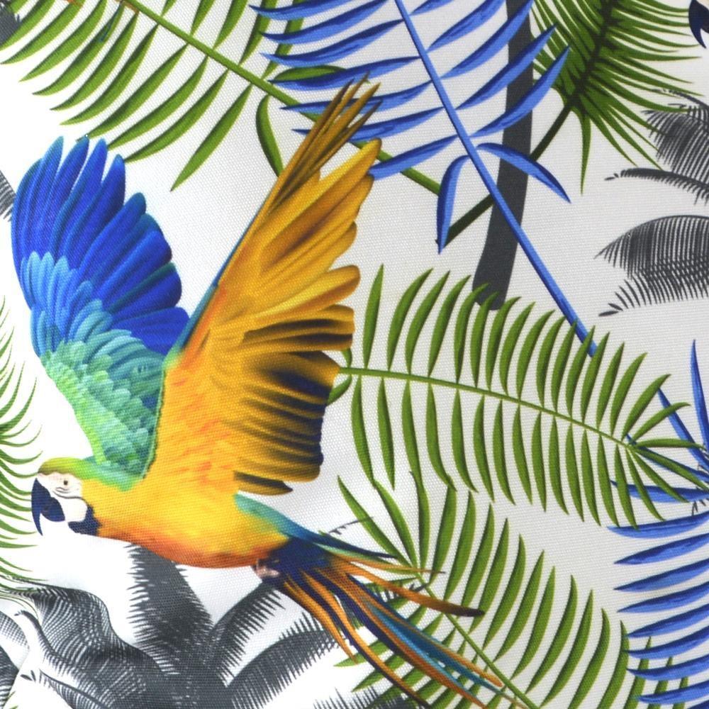 OU EST MARIUS - Fabulous Blue Aras Cushion 45x45cm-2
