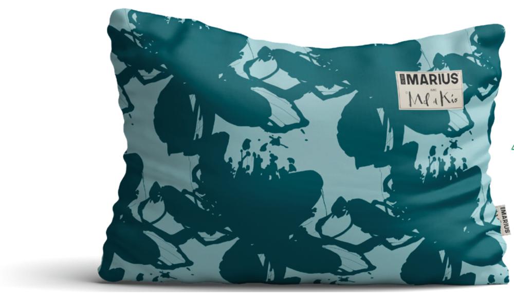 OU EST MARIUS - Les Indolentes cushion 40x60cm-2