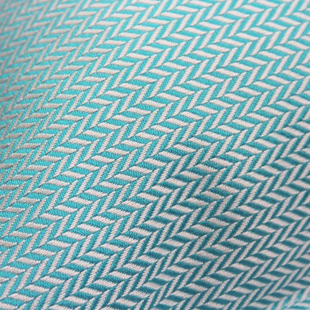 OU EST MARIUS - Chevron Mint Cushion 50x50cm-2