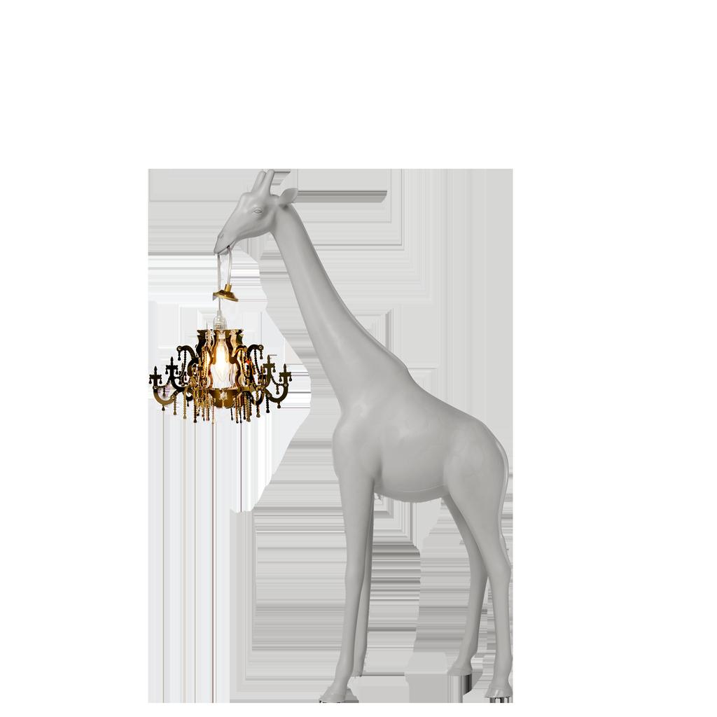 QEEBOO - Giraffe Lamp In Love XS White-2