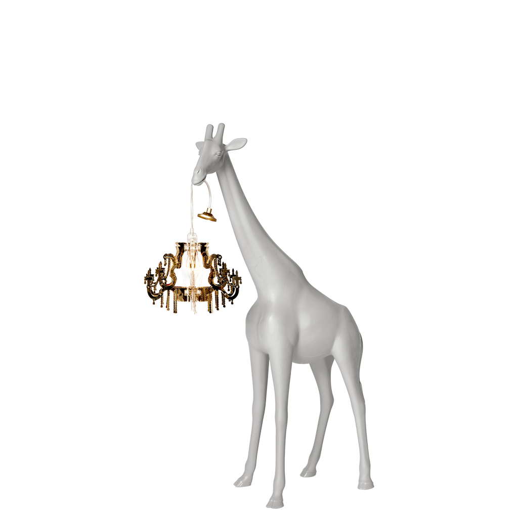 QEEBOO - Giraffe Lamp In Love XS White-3