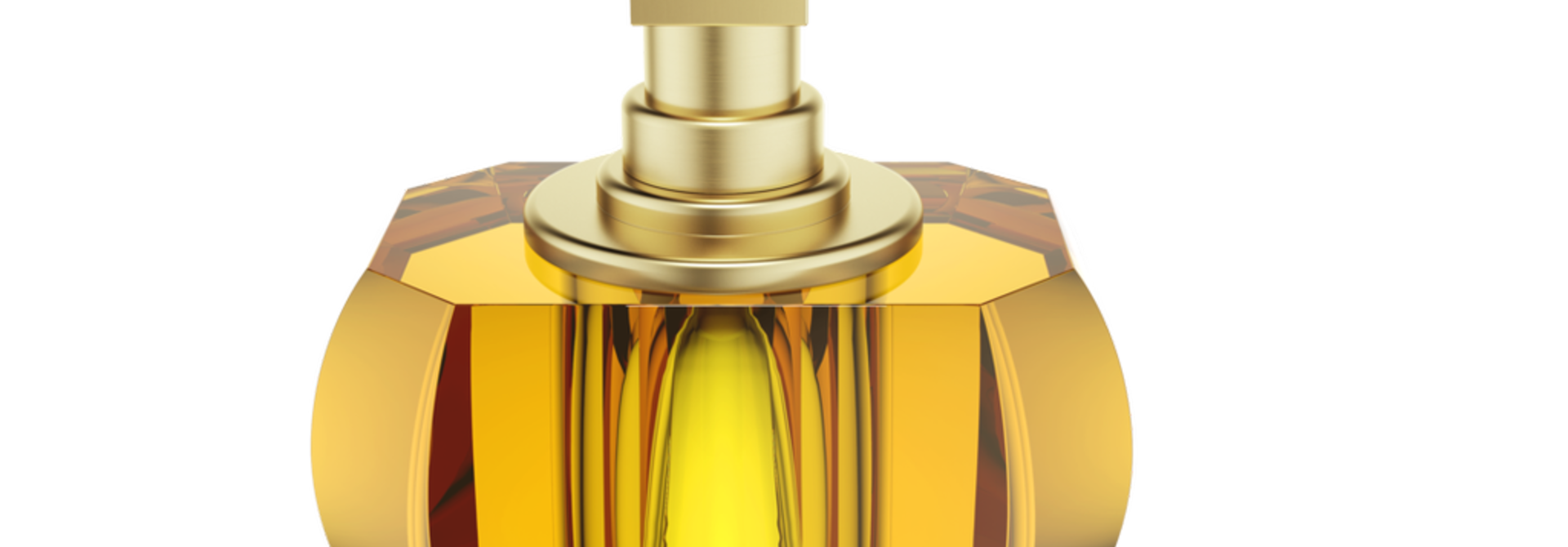 DECOR WALTHER - Crystal / Amber Soap Dispenser