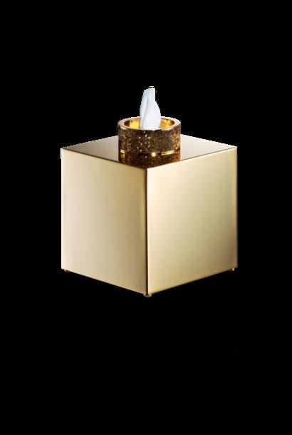 DECOR WALTHER - Gold / Swar Tissue Box
