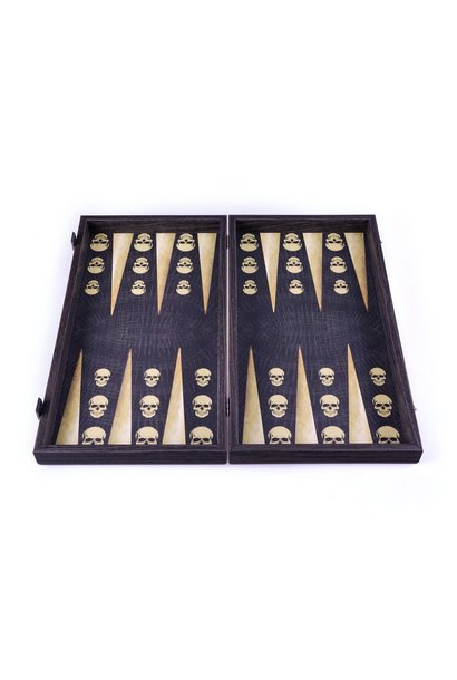 MANOPOULOS - Game Backgammon Skull Design