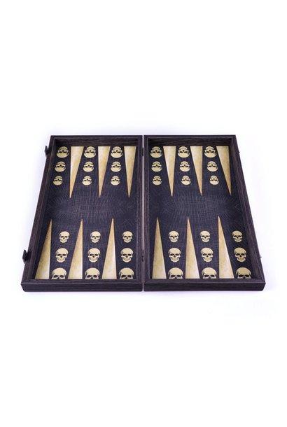MANOPOULOS - Jeu Backgammon Skull Design