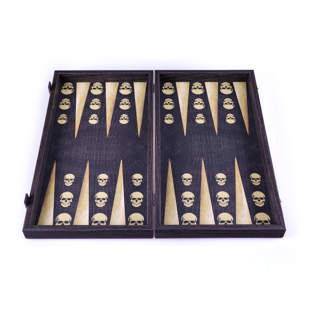 MANOPOULOS - Game Backgammon Skull Design-1