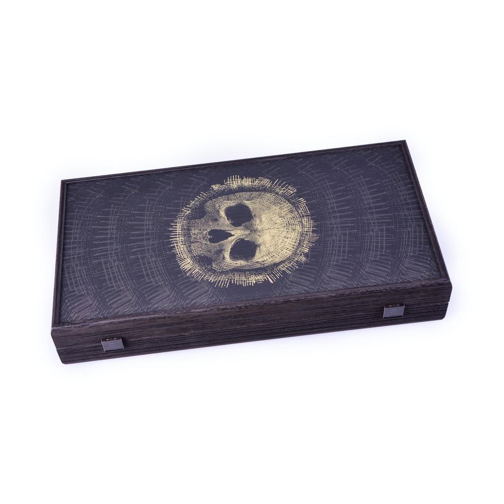MANOPOULOS - Game Backgammon Skull Design-2