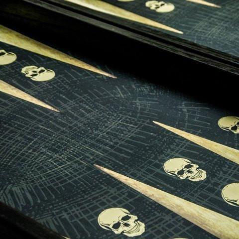 MANOPOULOS - Game Backgammon Skull Design-4