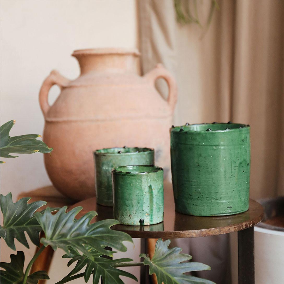 COTE BOUGIE MARRAKECH - Tamegrout Mint & Tea Candle L-2