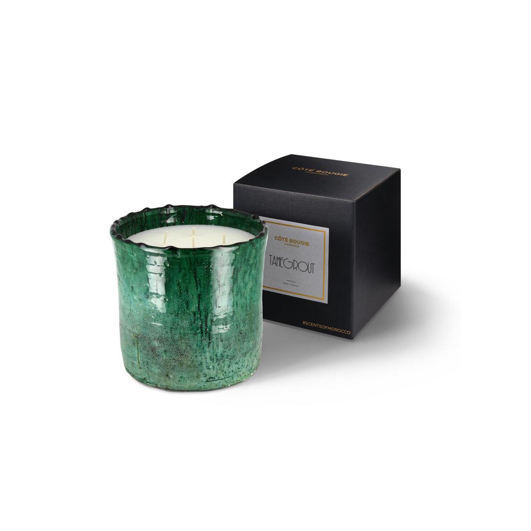 COTE BOUGIE MARRAKECH - Tamegrout Mint & Tea Candle M-3