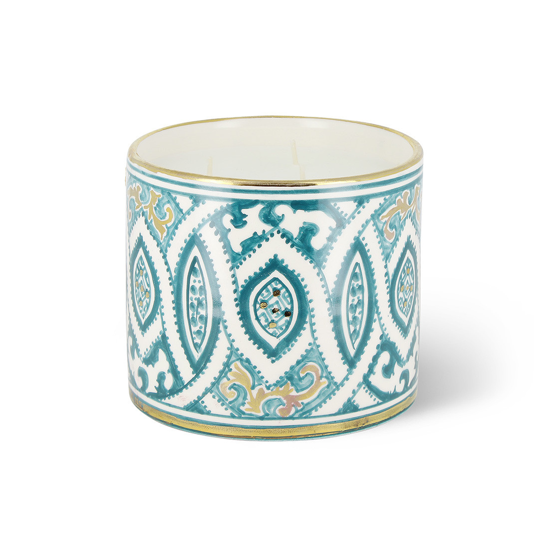 COTE BOUGIE MARRAKECH - Andalusian Blue Orange Blossom Candle M-1