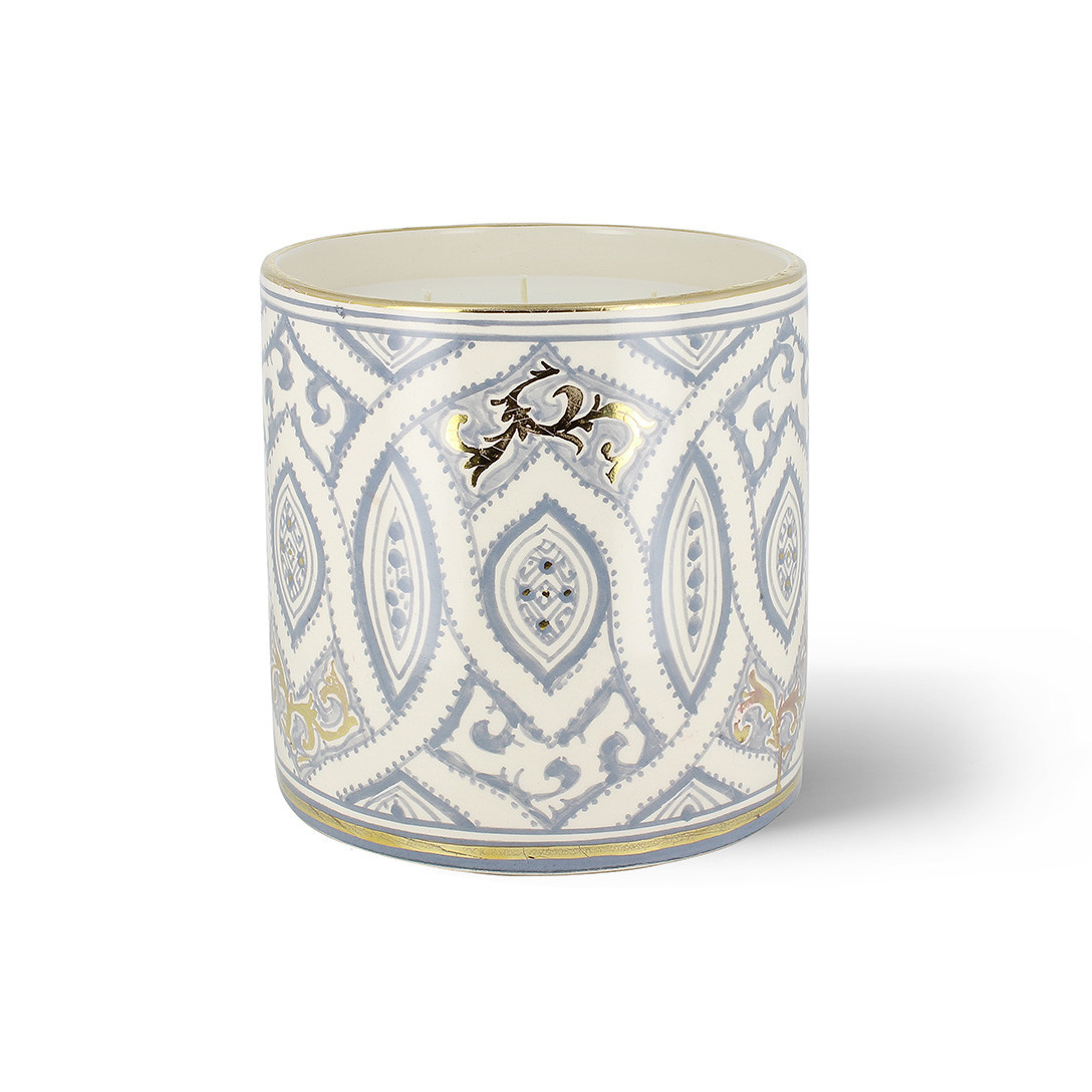 COTE BOUGIE MARRAKECH - Andalusian Gray Oriental Candle XL-1