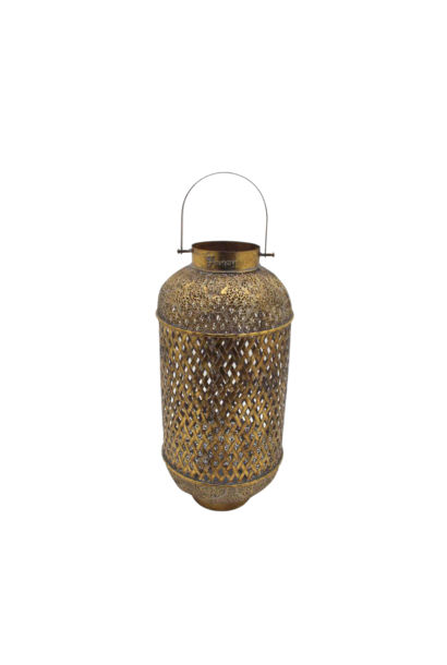 Lanterne Trapani  Or H.80cm
