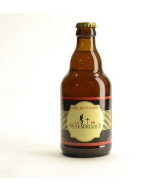 Remembrance Beer 14-18 (33cl)