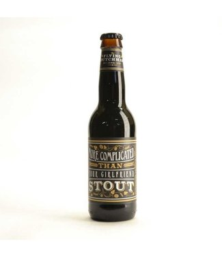 Nomad Brewing Company Flying Dutchman More Complicated Than Your Girlfriend Stout (33cl) (FI)