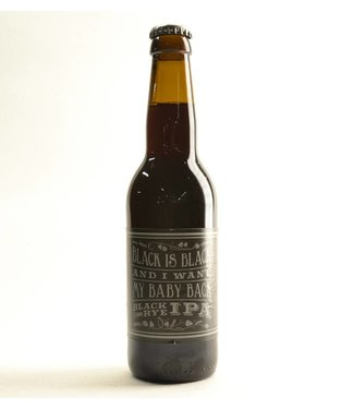 Nomad Brewing Company Black is Black and I want my baby back Black Rye IPa (33cl)