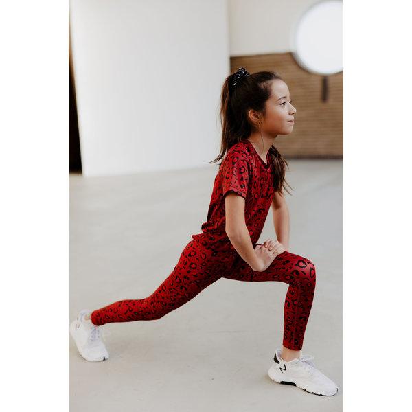Legging Ellen rood
