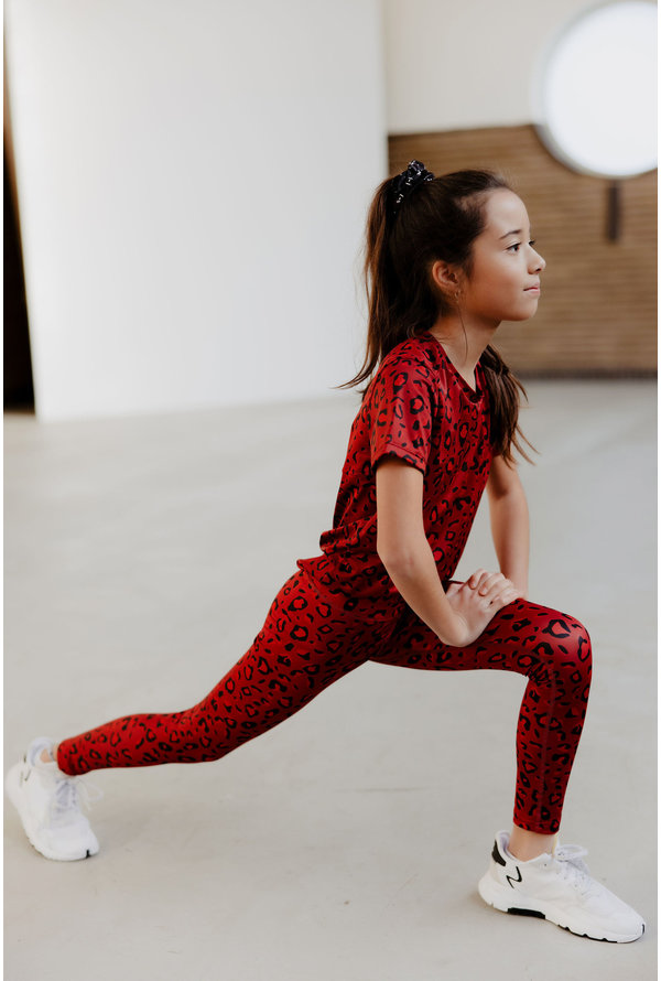 Trainingsshirt Rowen rood