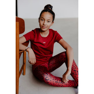 T-shirt Sofie rood