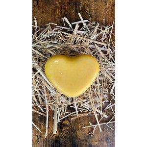 Jonge boerderijkaas - Hartvormig 500 gram (geel)