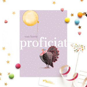 greeting card with text
