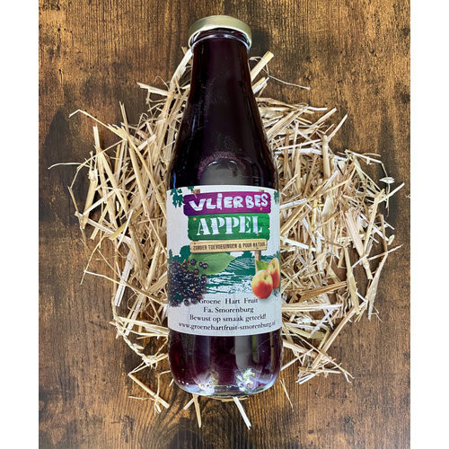Fa. Smorenburg Fruit juice - Apple Elderberry (0,75cl)