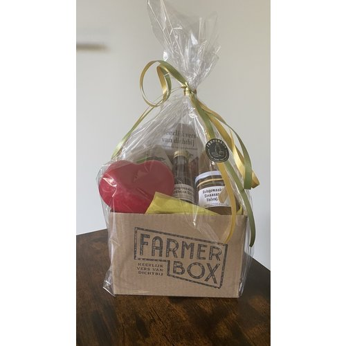 All products festively packed in a gift box