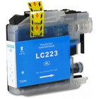Brother LC-223 Inktcartridge Cyaan (Huismerk)