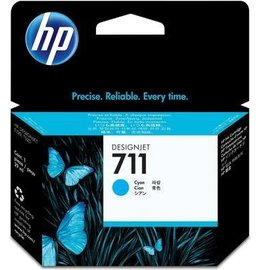 HP 711 (CZ130A) Inktcartridge Cyaan (Origineel)