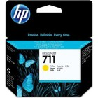 HP 711 (CZ132A) Inktcartridge Geel (Origineel)