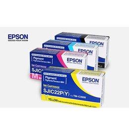 Epson SJIC22P(M) Inktcartridge Magenta (Origineel)