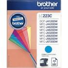 Brother LC-223 Inktcartridge Cyaan (Origineel)