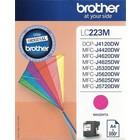 Brother LC-223 Inktcartridge Magenta (Origineel)