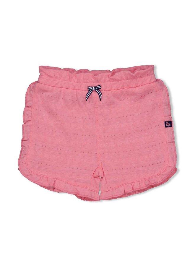 Short AOP - Seaside Kisses - Roze