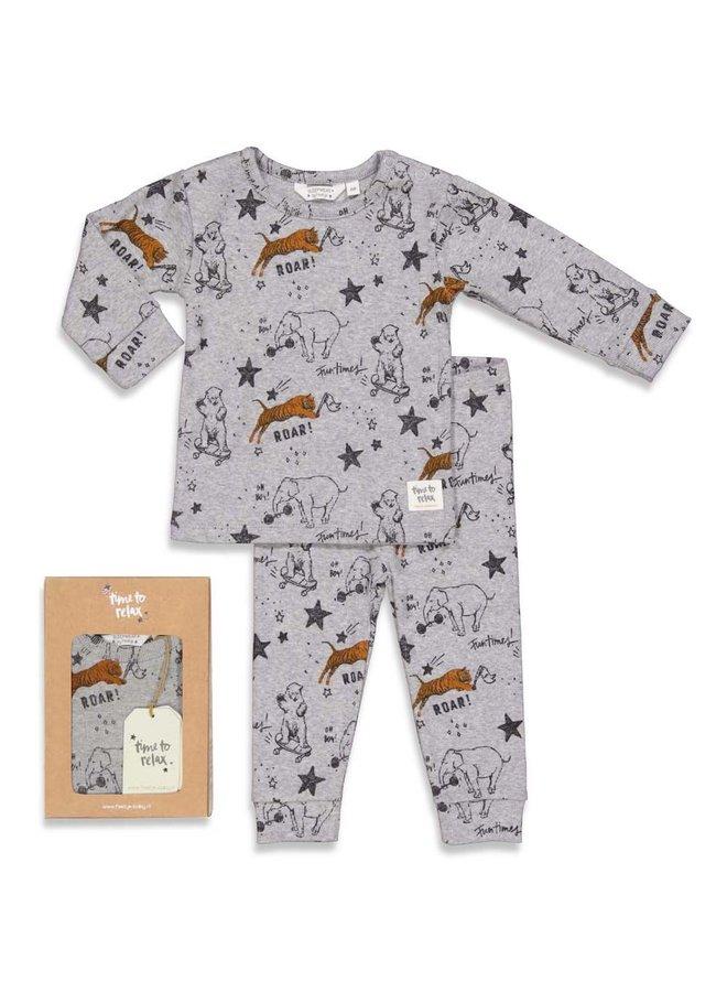 Roar Riley - Premium Sleepwear by FEETJE - Grijs melange
