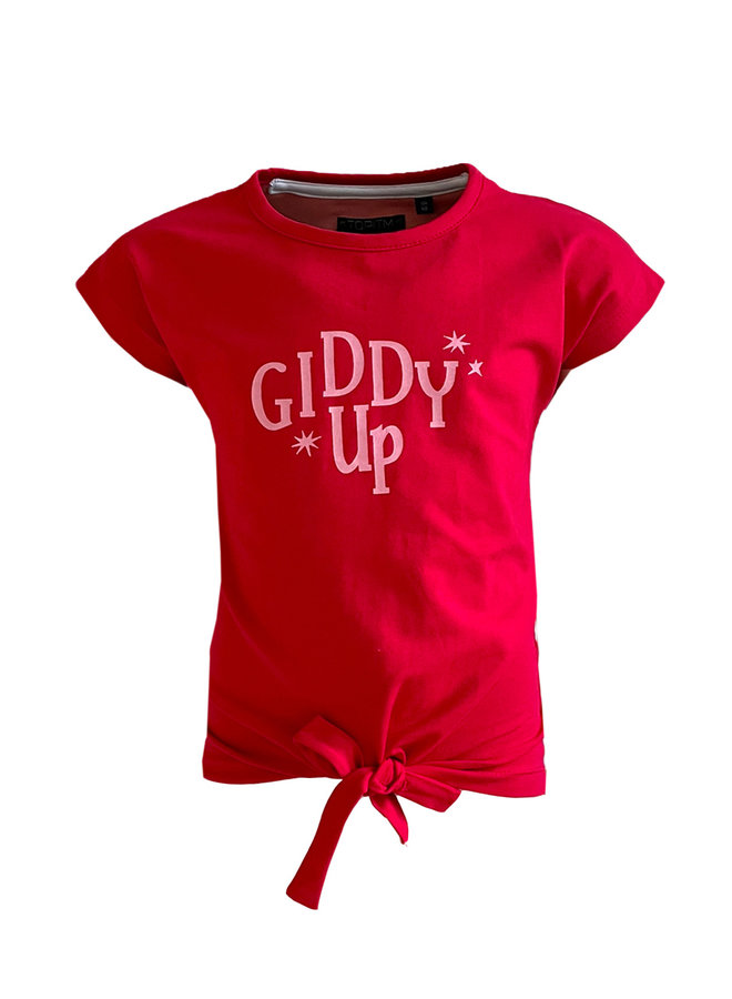 Kiddy up top - red