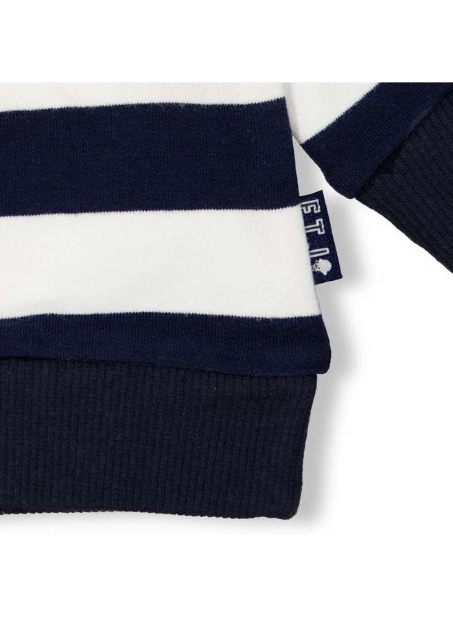 Sweater streep - Team Icecream - Marine