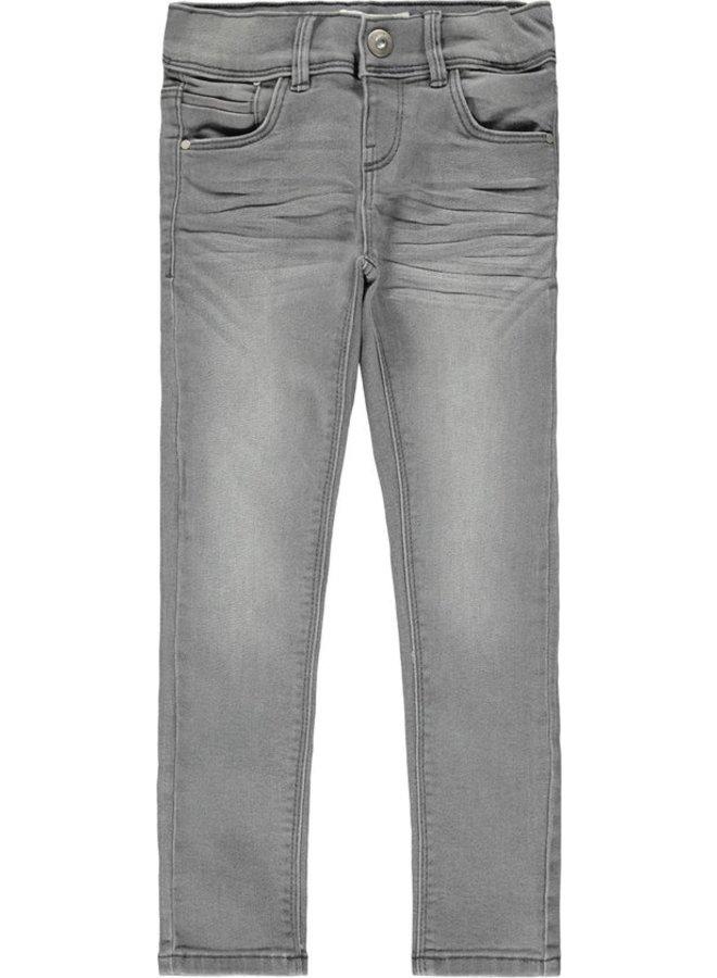 NKFPOLLY DNMTASIS 4325 PANT NOOS - Light Grey Denim