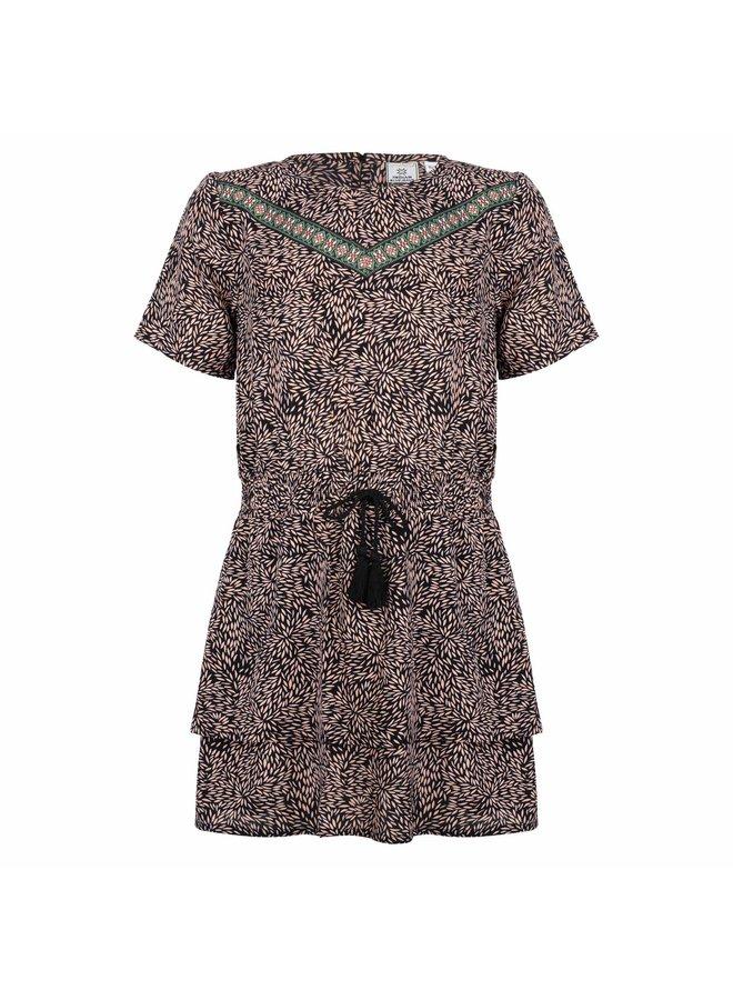 TAPE DRESS - Fancy Print