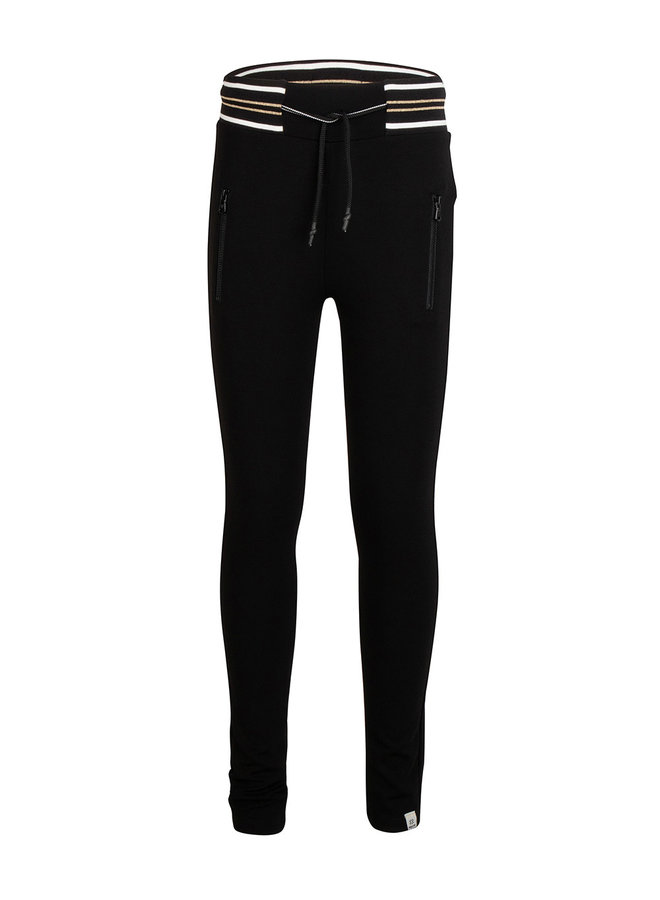 SPORTY LEGGING PANTS - Black