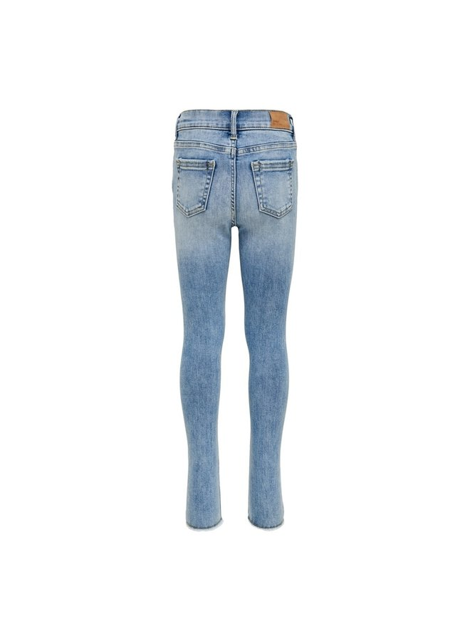 KONBLUSH SKINNY RAW JNS LIGHT BLUE NOOS - Light Blue Denim