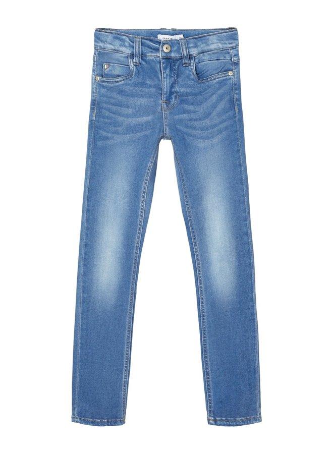 NKMTHEO DNMTAGS 2455 PANT NOOS - Medium Blue Denim