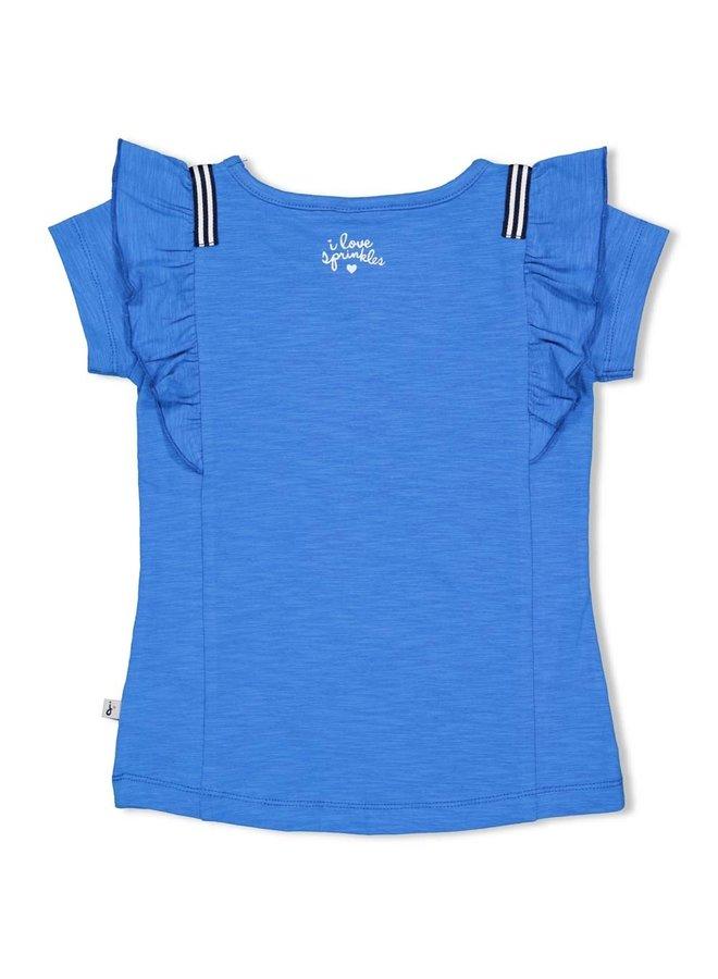 T-shirt - Sweet Gelato - Blauw