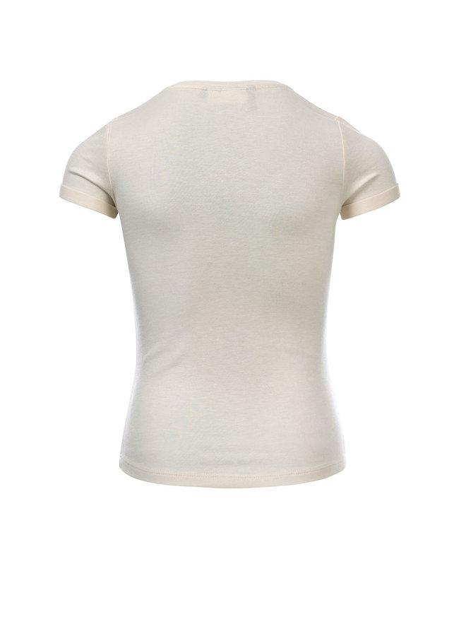 10Sixteen T-shirt - MILK