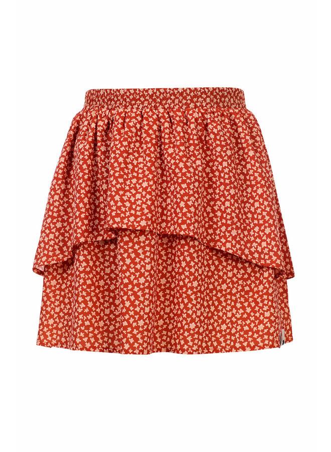 10Sixteen printed skirt - TERRA